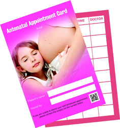 Antenatal Appointment Cards
